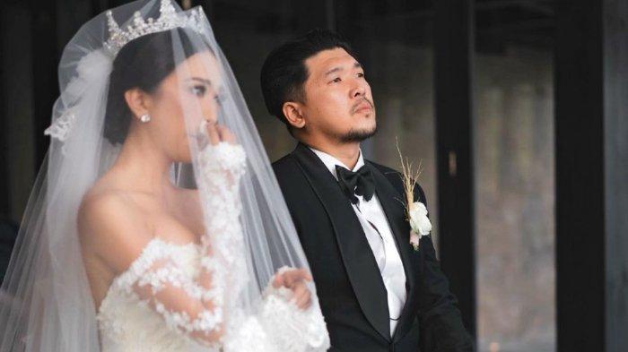 Momen pernikahan Natasha Ratulangi dengan Aldris Prayogo S. Limpo