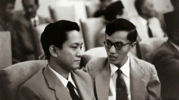 Njoto bersama Ketua PKI, Aidit