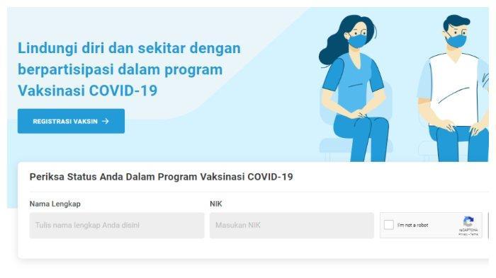 Cara download sertifikat Covid-19 melalui situs pedulilindungi.id