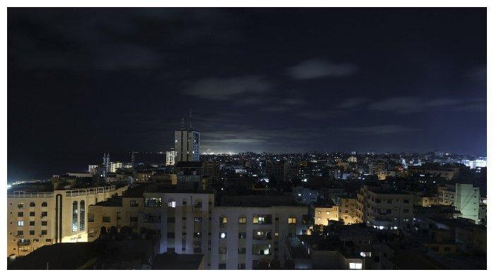 Pemandangan Kota Gaza, 18 Juni 2021