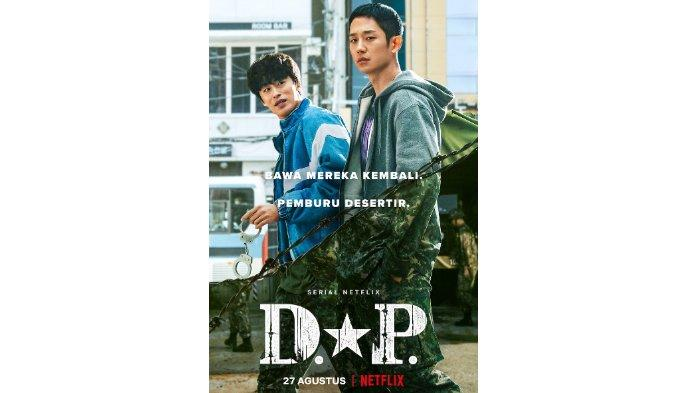 Poster drama Korea D.P. (Netflix)