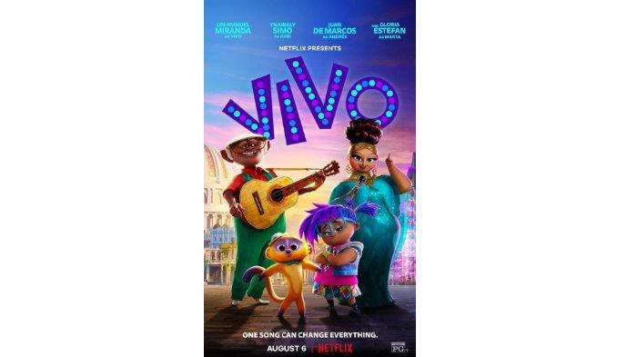 Poster film Vivo (Netflix)