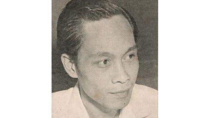 Pramoedya Ananta Toer saat masih muda.