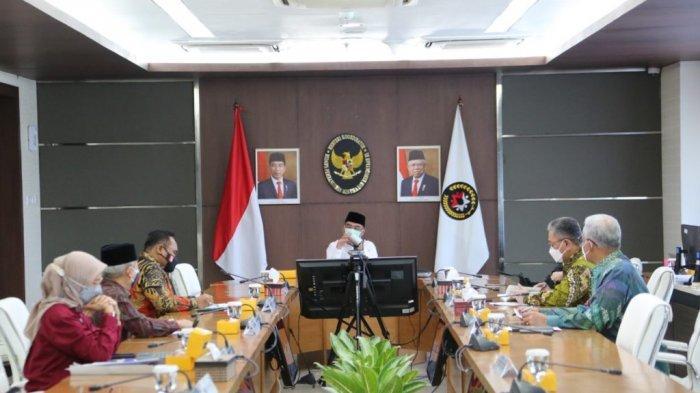 Rapat Koordinasi Tingkat Menteri tentang Hari Libur Nasional dan Cuti Bersama Tahun 2022, Rabu (22/09/2021).