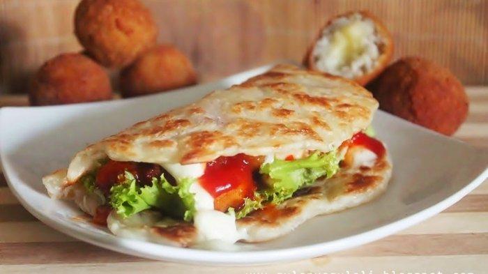 ILUSTRASI - Sandwich yang dijual di Subway