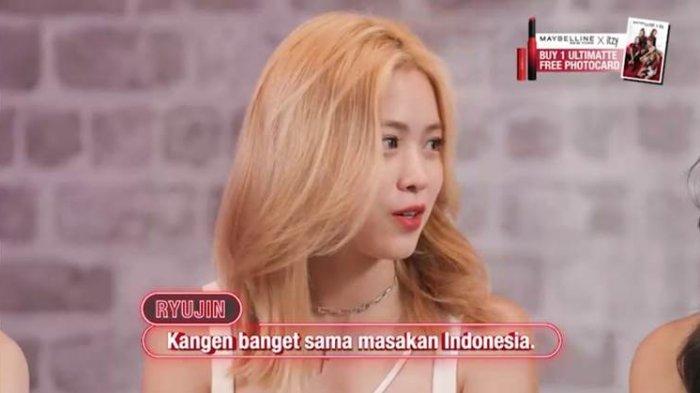 Ryujin ITZY Kangen Masakan Indonesia