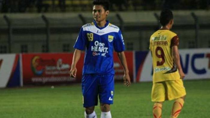 Sigit Hermawan saat bermain untuk Persib Bandung.