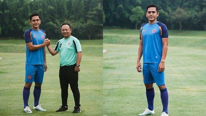 Striker Bhayangkara FC I Made Wirahadi Resmi Gabung Sulut United.