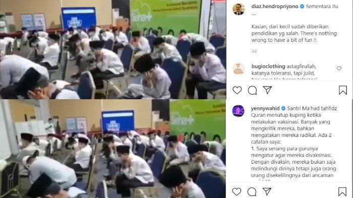 Tanggapan Diaz Hendropriyono dan Yenny Wahid