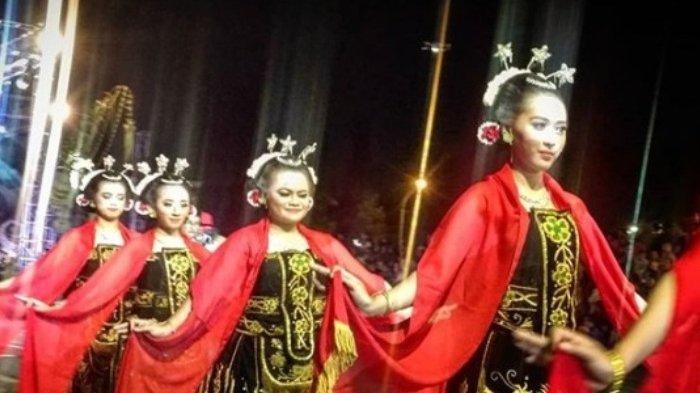Tari Beskalan di Malang Night Culture and Art, Sabtu (17/11/2018) malam