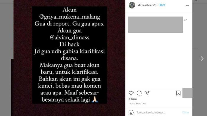 Terduga pelaku fetish mukena berinisial D menyampaikan klarifikasi dan permohonan maaf serta berjanji akan menghapus semua foto korban di media sosial.