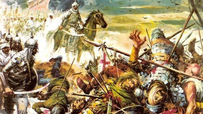 Thariq Bin Ziyad di Pertempuran Guadalate.
