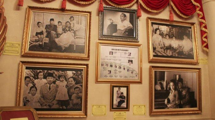 Koleksi di The Sukarno Center, Kabupaten Gianyar, Bali.