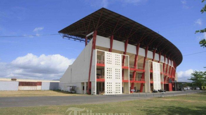 Tribun Barat Stadion Sultan Agung, Bantul.