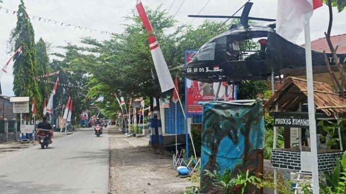 Suasana Desa Kolam, Kecamatan Percutseituan, Kabupaten Deliserdang.