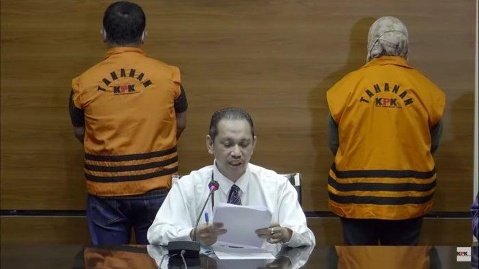 Wakil Ketua Komisi Pemberantasan Korupsi (KPK) Nurul Ghufron mengungkapkan kasus OTT Bupati Kolaka Timur, Rabu (23/9/2021).