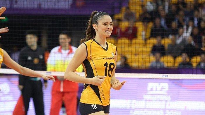 Atlet voli putri Turki Zehra Gunes