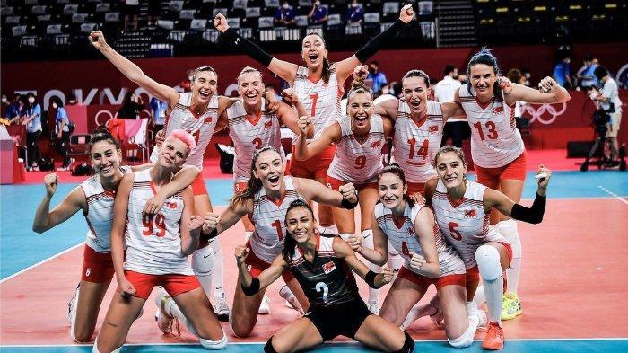 Tim Nasional Turki di ajang Olimpiade TOKYO 2020