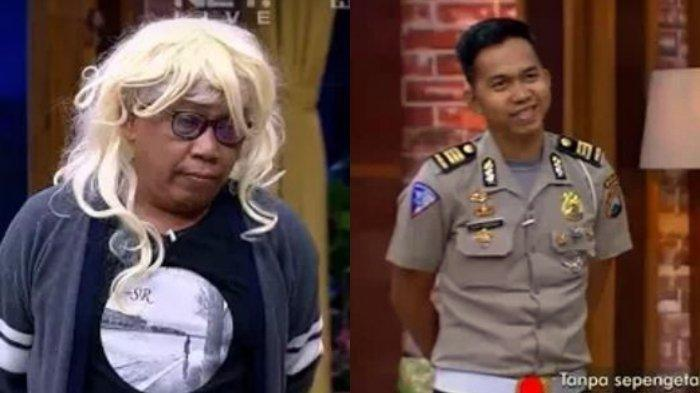 Tukul Arwana dan anaknya, Ega Prayudi, kini jadi polisi.