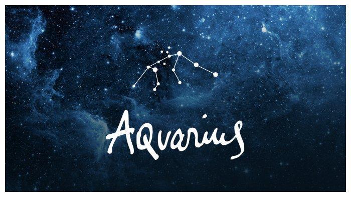 Simbol zodiak Aquarius.