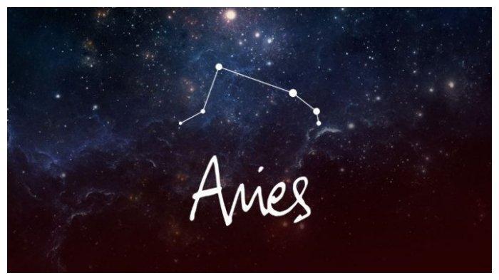 Simbol zodiak Aries.