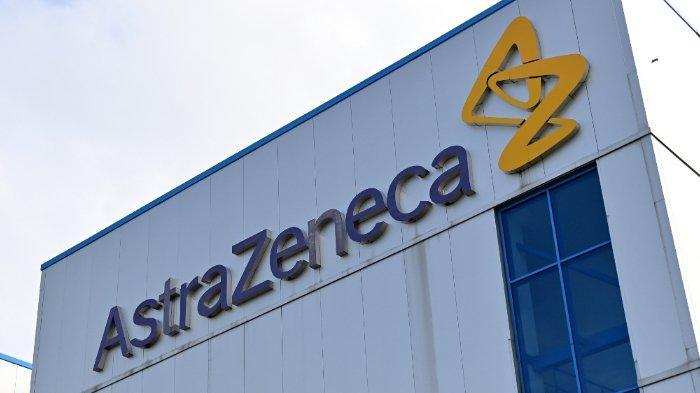 Kantor perusahaan farmasi dan biofarmasi multinasional Inggris-Swedia AstraZeneca PLC di Macclesfield, Cheshire, Inggris.