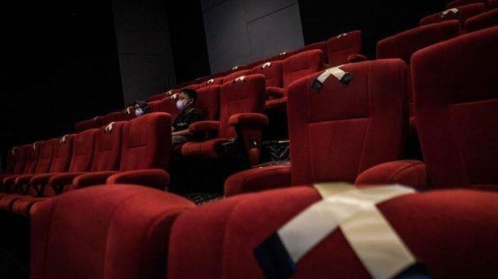 Ilustrasi bioskop di masa pandemi Covid-19