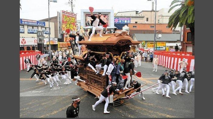 danjiri festival jepang
