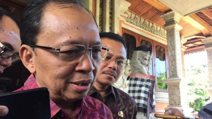 Gubernur Bali, I Wayan Koster di Denpasar, Rabu (12/2/2020).)