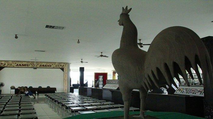 Museum jamu jago yang letaknya bersamaan dengan Museum Rekor Dunia Indonesia