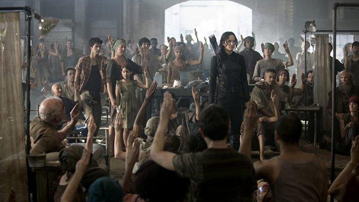 The Hunger Games: Mockingjay - Part 1.