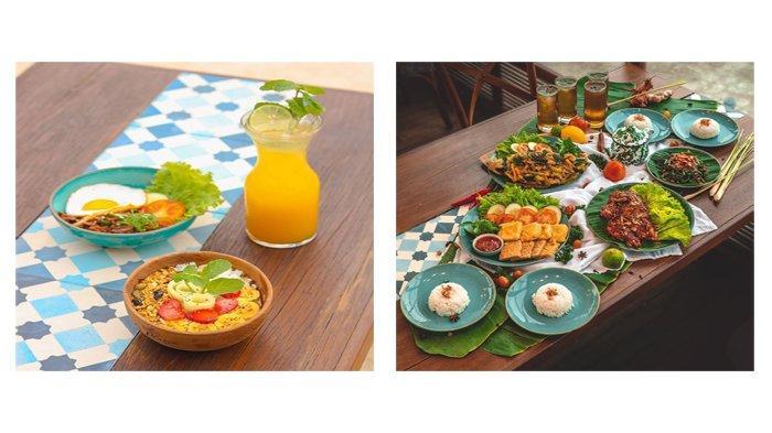 Beberapa sajian menu yang ada di La Playa Cafe