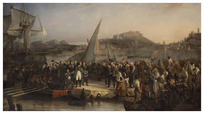 Ilustrasi Perang Napoleon di Jawa 1811