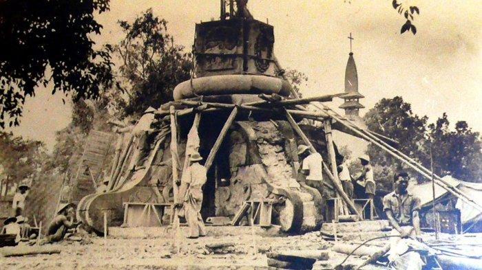 Pembangunan Tugu Muda (cagarbudaya.kemdikbud.go.id)