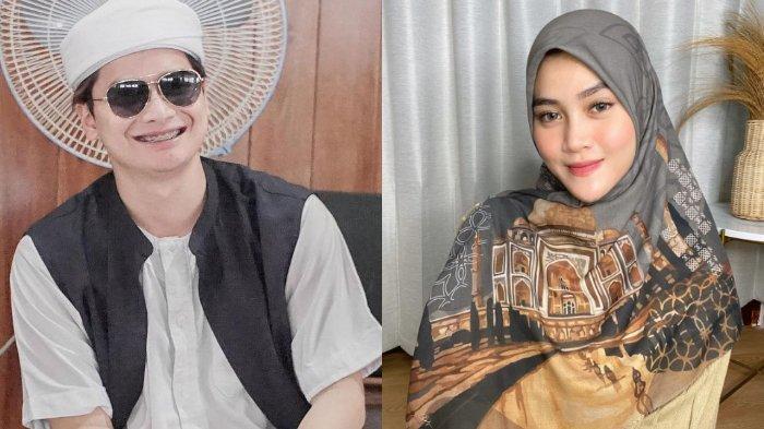 Beredar foto pernikahan Alvin Faiz dan mantan istri aktor Rizky Daulay, Henny Rahman.