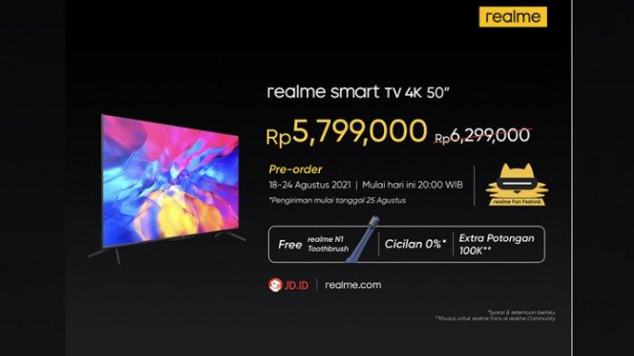realme Smart TV 4K 50