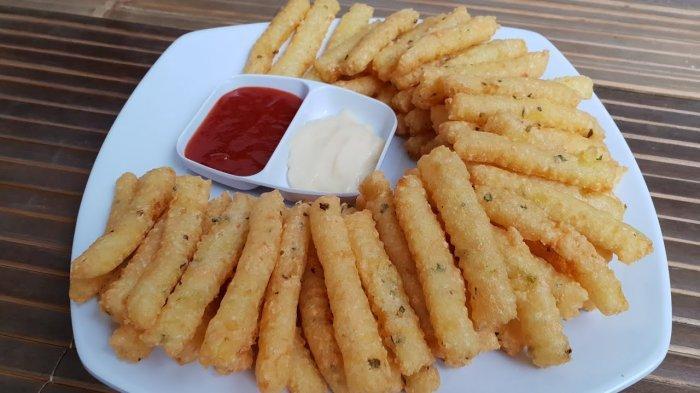 Resep Makanan Stik Kentang Keju Camilan Enak Untuk Berbuka Puasa Tribunnewswiki Com Mobile