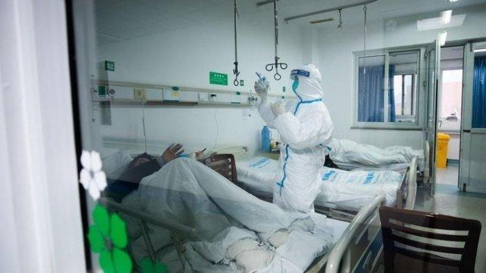 Ilustrasi pasien di rumah sakit.