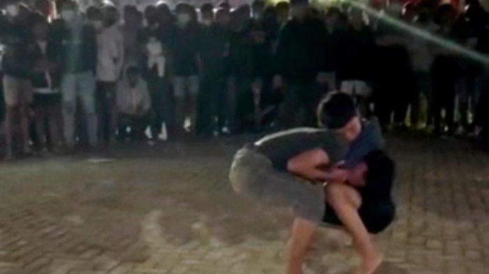 viral tarung bebas remaja di makasar