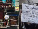 Mahasiswa UNS yang Bentangkan Poster saat Jokowi Datang ke Solo Akhirnya Dibebaskan