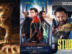 4 Film Hollywood yang akan Tayang di Bulan Juli 2019, Ada Spider-Man hingga The Lion King