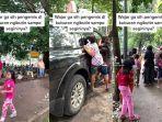 VIRAL Video Pengemis Anak Buntuti Peziarah: Gedor Mobil hingga Ikut Masuk, Orang Tua Hanya Mengawasi