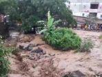 Banjir dan Longsor Terjang Parapat Sumatera Utara Sebabkan Lalu Lintas Lumpuh