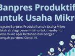 Banpres Produktif Usaha Mikro (BPUM)