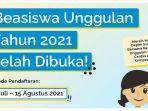 Ini Persyaratan Pendaftaran Beasiswa Unggulan 2021, Akses di puslapdik.kemendikbud.go.id