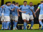 Liga Champions: Atasi Dortmund 1-2, Man City Lolos dan Tak Terkalahkan hingga Babak Perempatfinal