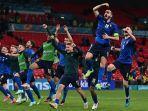 Hasil Babak 16 Besar Euro 2020: Italia Kesulitan Maju ke Perempat Final, Denmark Menang Telak