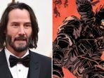 Keanu Reeves Bintangi Film Live-Action dan Animasi Hasil Adaptasi Komik BRZRKR di Netflix
