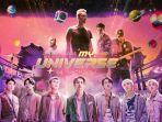 Lagu My Universe Coldplay X BTS Debut di Tangga Lagu Inggris, Jadi Single Terlaris Minggu Ini