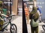 Viral Video Nenek Ketahuan Maling Sepeda di Siang Bolong, Berakhir Dibebaskan setelah Meminta Maaf